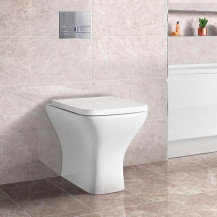 Austin Back to Wall Toilet with Soft Close Seat with Concealed Cistern