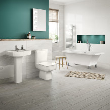 Athena 1600 Freestanding Bath with Bliss Suite