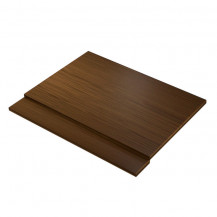 Darcey Wenge Effect 700 Bath End Panel