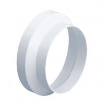 SUPERTUBE 125 circular reducer 150 x 125mm - white