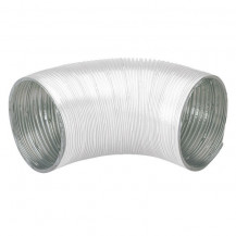 Aluminium flexible round ducting 4in x 1.5m