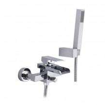 Detta Wall Mounted Waterfall Bath Shower Mixer