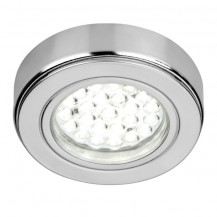 Warm Chrome 2 LED Flush Light Pack