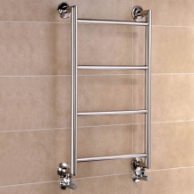 Buckden 800 x 500mm Straight Heated Towel Rail