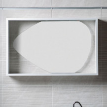 Garda Framed Oval Mirror