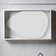 Garda Framed Oval Mirror
