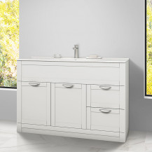 Nottingham White 1000 Vanity Unit