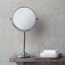 Round 150mm 5 x Magnifying Pedestal Mirror