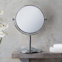 Round 200mm 5 x Magnifying Pedestal Mirror
