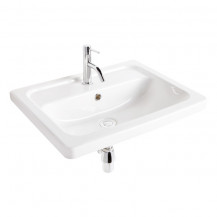 Aviso 570mm White Ceramic Wall Hung Basin