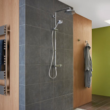 Mira Agile ERD Chrome Mixer Shower