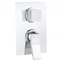 Tazia 3 Outlet Manual Concealed Shower Valve