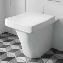 Iseo Back to Wall Toilet inc Soft Close Seat