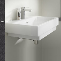 Vico 800mm 1 Tap Hole White Ceramic Basin