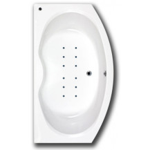 Rennes Bow Fronted 1700 x 970 Airspa Bath