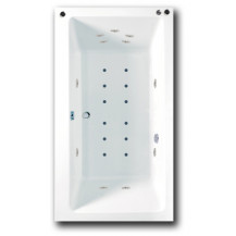 Rectangularo Hydrotherapy Bath 1800mm x 1000mm