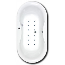 Divino Inset Airspa Bath 1850mm x 900mm