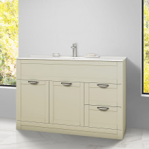 Nottingham Ivory 1000 Vanity Unit