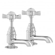 Hatton Traditional Basin Pillar Taps