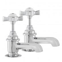 Hatton Traditional Bath Pillar Taps
