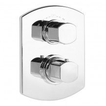 Vanda 1 Outlet Thermostatic Concealed Shower Valve