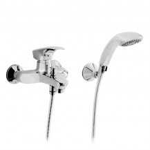Fina Wall Mounted Bath Shower Mixer