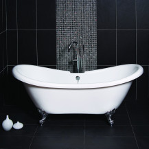 1760 x 740 Park Royal™ Double Ended Slipper Bath