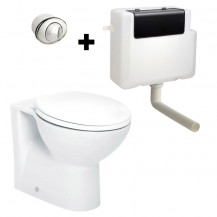 Tampa™ Back to Wall Toilet with Concealed Cistern