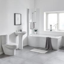 1500 Prima Right Hand Shower Bath Suite
