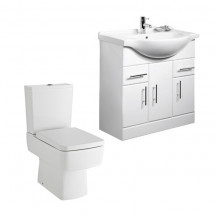 Madison 75 White Furniture Pack