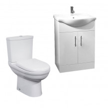 Madison 55 White Furniture Pack