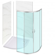 800 X 800 Quadrant Enclosure - with Shower Tray and Wall Panels