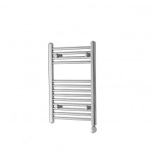 Basilicata Electric 691 x 450 Chrome Towel Rail