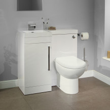 Apex™ Tabor White Left Hand Combination Unit