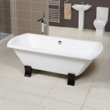 Tabor™ Semi Pedestal Freestanding Bathroom Suite