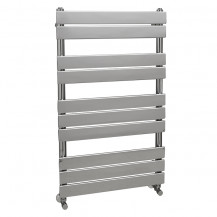 Lorenzo Beta Heat 1000 x 600mm Flat Chrome Heated Towel Rail