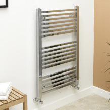 Beta Heat 1000 x 600mm Square Chrome Heated Towel Rail