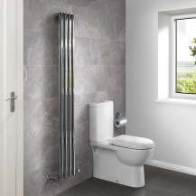 Nevada Beta Heat 1600 x 240mm Single Panel Chrome Radiator