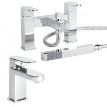 Como Basin Mixer & Bath Shower Mixer Tap Pack