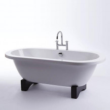 Shanghai Eclipse 1700 x 800 Double Ended Freestanding Bath