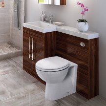 Walnut Tabor™ 120cm Left Hand Combination Unit