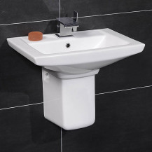 Modena™ 60 Basin & Semi Pedestal
