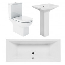 Salou Quatro 1700x700 Bath Suite Deal