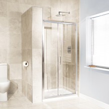 Aquafloe™ 6mm 1000 Sliding Shower Door