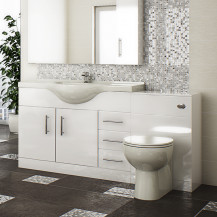 Windsor™ 105 White Combination Unit