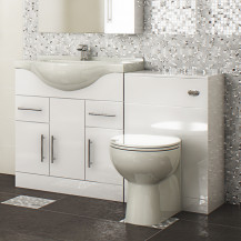 Windsor™ 85 White Combination Unit