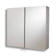 Stainless Steel Mirrored Double Door Cabinet 550(H) 600(W) 140(D)