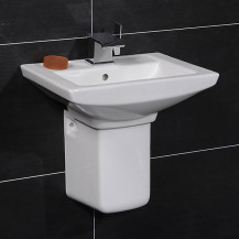 Modena™ 50 Basin & Semi Pedestal