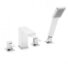 Andra 4-Hole Bath Shower Mixer Tap