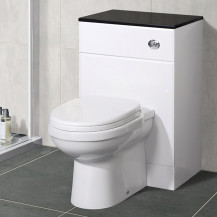 Impressions Back to Wall Toilet & Windsor™ Black Unit